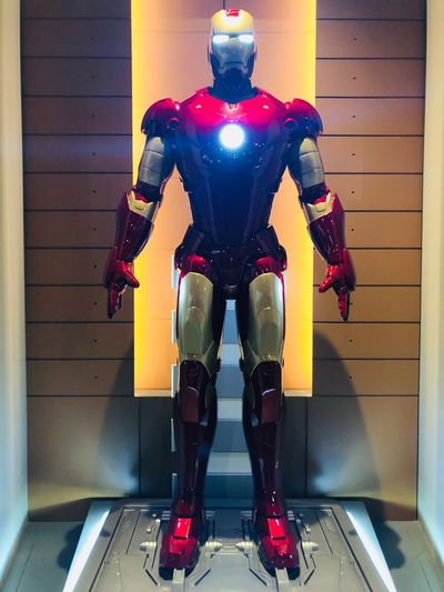 iron man 3 Disney Shanghai Marvel Human Representation Indoors  Robot Technology Representation Male Likeness Architecture
