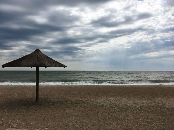 Azov Sea Sky Sea Beach