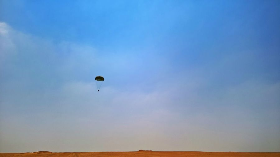 Jumping off an airplane is one of the most adrenaline boosters ever experienced Adrenaline Be Brave Desert Fly Adventure Extreme Sports Flying Jump Off C130 Mid-air Parachute Parachuting Paratrooper Sky
