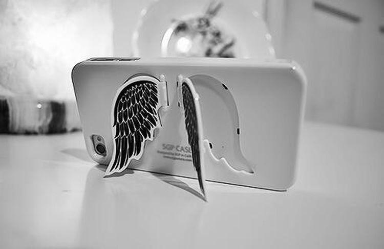 Silver angel wings phonecase Cute Phonecase Angel