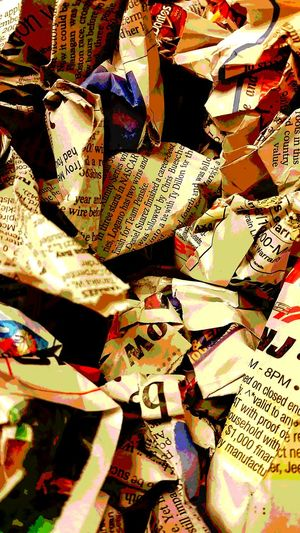 Newspapers Not Instagram Mirror Image Mirror Picture Newspaper Newspaper Art mirror effect Showcase: February Still Life Photography Posterized Absttract Art