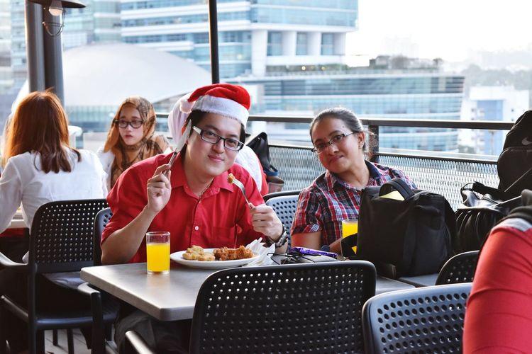 Freelance Life Christmastime Dinner Afterwork Allianz
