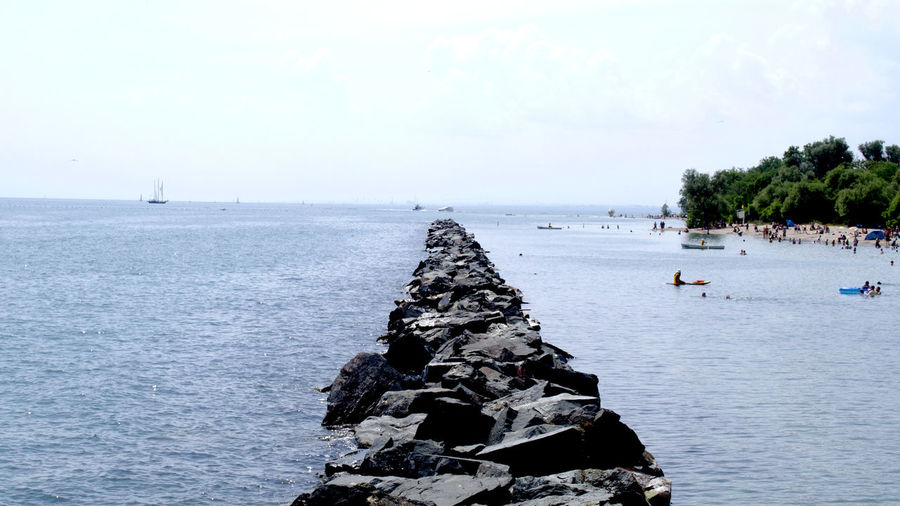 Rock Breakwater