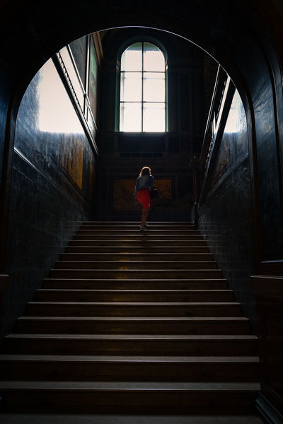 Arch Architecture Beautiful Building Built Structure Casual Clothing Day Design Diminishing Perspective EyeEm Best Shots Girl Interior Interior Design Leisure Activity Lifestyles Light Light And Shadow Moving Up Shadow Showcase: July Staircase Stairs The Way Forward Traveling Window