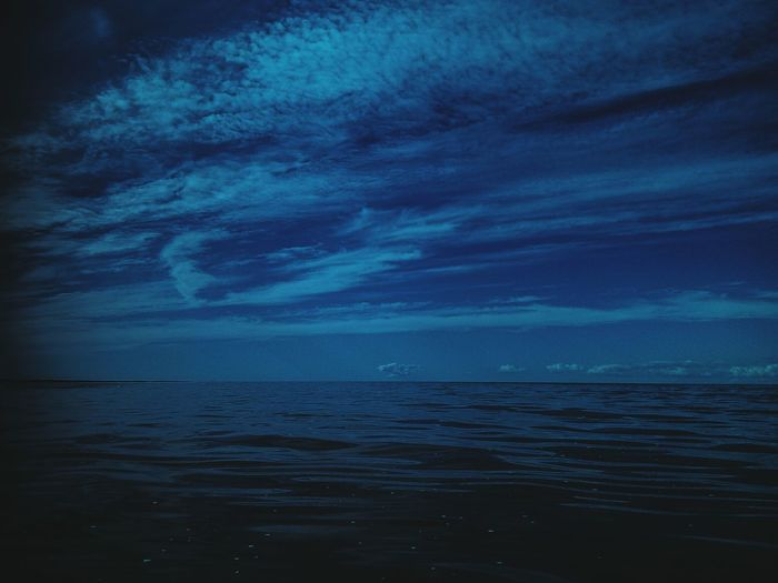 Sea Horizon Over Water Nature Scenics Water Beauty In Nature Blue Outdoors No People Tranquil Scene Cloud - Sky Rippled Tranquility Sky Vacations Night Luminosity EyeEm Selects Latvia Waterscape Water Surface Seascape Photography Baltic Sea Sea Background Twilight Time