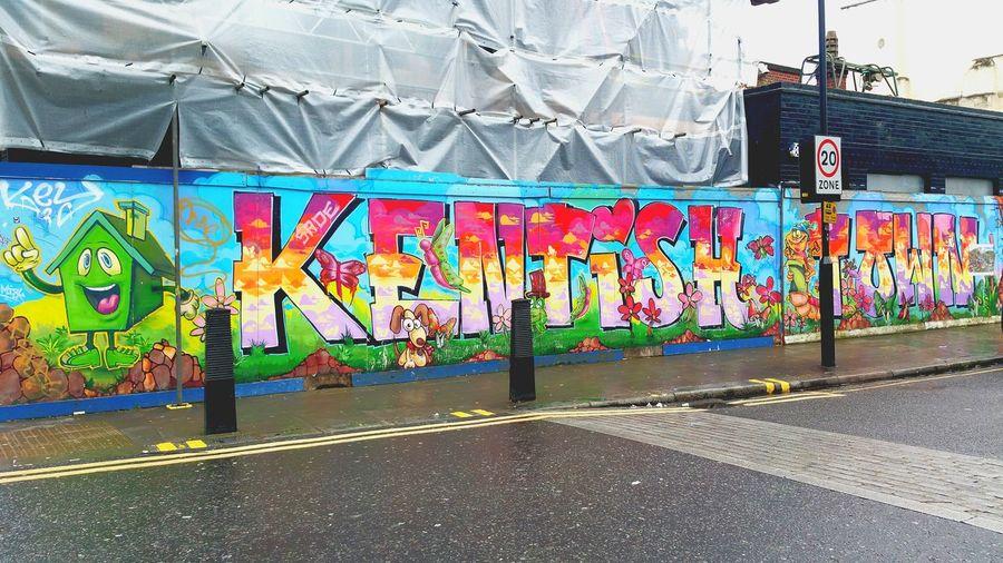London Lifestyle TakeoverContrast Battle Of The Cities Hidden Gems  Iconic Landmark Kentish Town Street Photography Street Art Street Art/Graffiti Colour Of Life Postcode Postcards