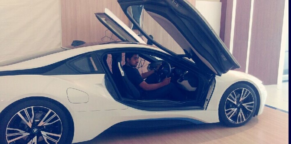 Car BMW I8 My Select Photo