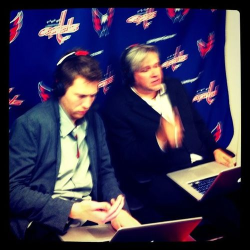 Two guys in a shoebox Capitals  Capitalsreport Washcaps