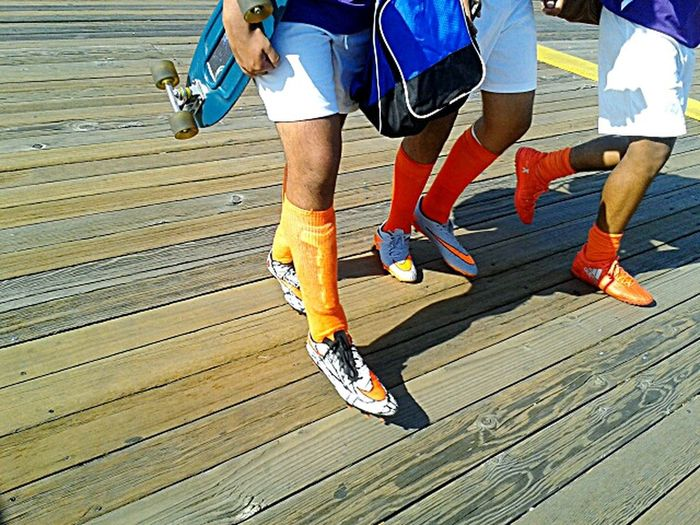 The Color Of Sport ready for the game. photo by Shell Sheddy Shellsheddyphotography Sheshephoto Street Photography Sneakers Cleats ♥  Sport In The City Beautifully Organized