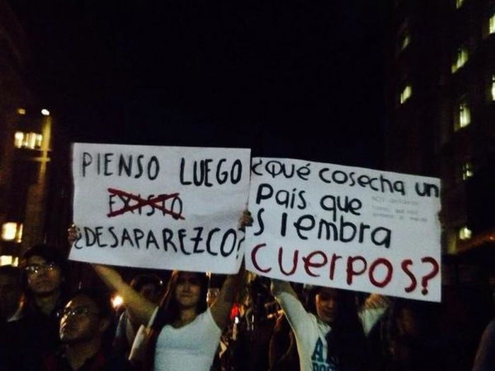 The EyeEm Facebook Cover Challenge Que cosecha? No Lo Se Ya Me Cansé Peña Fuera Ayotzinapa Vive 43 Queremos Justicia Súmate A La Lucha