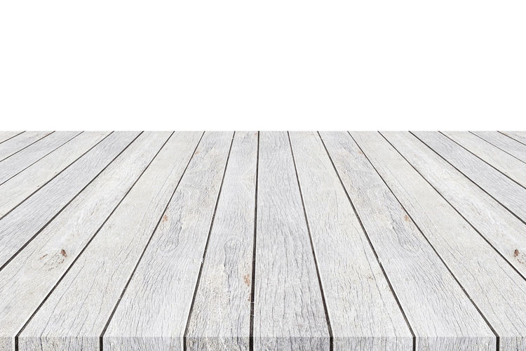 High angle view of wooden floor