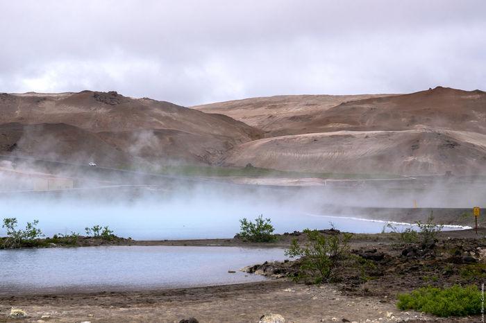 Mývatn, centrale géothermique de Bjarnarflag Geothermal  Iceland Myvatn Volcano