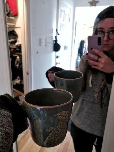 Women Coffee - Drink Coffee Cup Close-up Hot Drink Mug Beverage