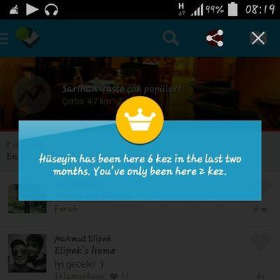 Tek dil konuş please Foursquare