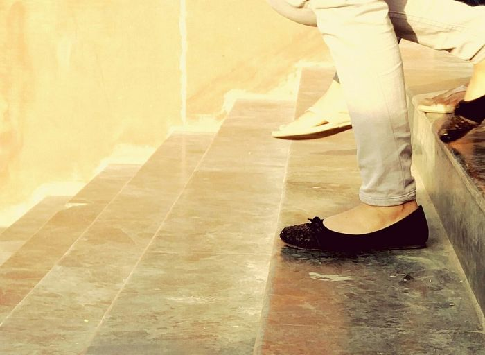 One step at a time. Life In Colors Life In Motion Summertime Light And Shadow Step By Step Steps And Staircases One Step At A Time Stairs Feet And Shoes Footwears Footwear Of The Day  Light And Shadows Feet Stories Footwear Sunny