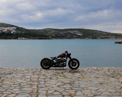 Riding in peace Architecture Built Structure Cloud - Sky Harley Davidson Harleydavidson Nature Sky Water MeinAutomoment