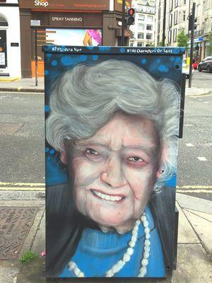 Oh is that you dear?! Streetart London