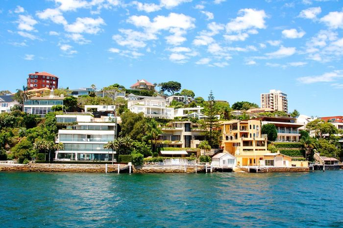 Boat Trip Around The City  Sky And Clouds Australia Travel Photography Beautiful View Sydney, Australia Architecture Architecturelovers Apartment Apartment Buildings Apartments House Outdoors Boat View Expensiv Expensive Cities Nice House Niceplace