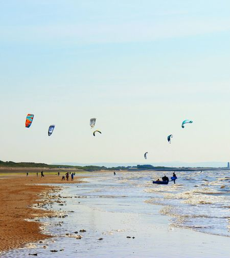 Canon EOS 600D DSLR Check This Out Wirral Peninsula Kite Surfers Sunnydays Walking Around