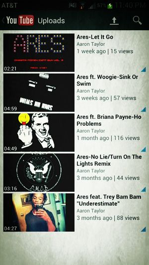 Help my views go up. Check my music out on YouTube. iLove all my fans and supporters.