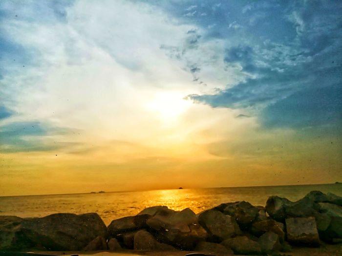 Sunset Cloud - Sky Nature Beach Beauty In Nature First Eyeem Photo