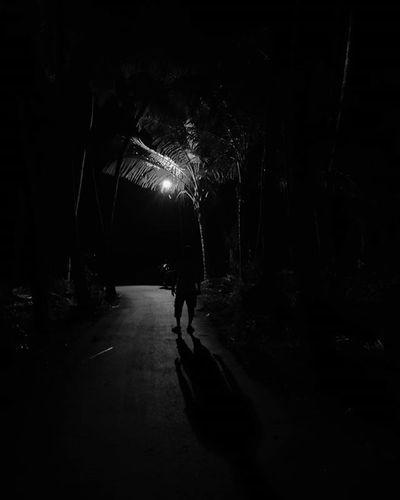 Travel Blackandwhite Streetphotography Postergullysunshine Explore Street Night Darkness Streetlight Shadow