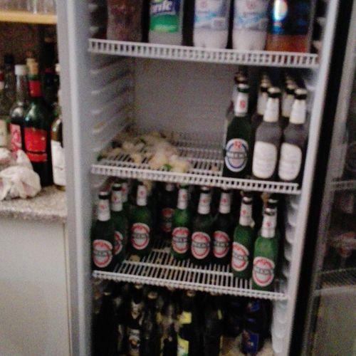 No People Day 2016 Bier Kühlschrank Eis Gefroren Getränke