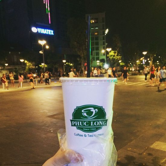 Phuclong Phuclongmilktea My Favorite  NguyenHue Street Nguyenhuewalkingstreet Enjoying Life Taking Photos