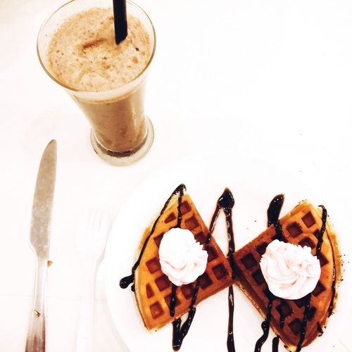 Better Together Pancake Dechocolatecoffee Dilicious Myfavoritefood Sweet Yummy♡