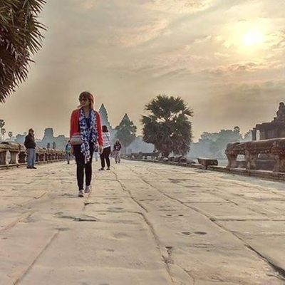 I honestly see no point in dwelling on what could have been... You either make it happen or simply chase a greater opportunity. Quoteoftheday Angkorwat Wanderkat Selfworth Cambodia Kingdomofwonder