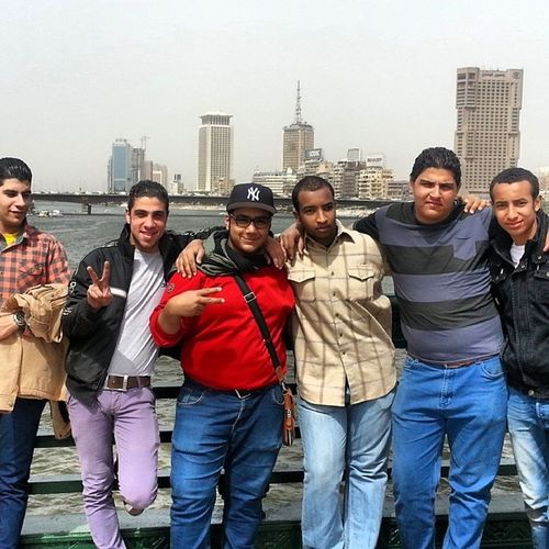 Lost a hat. Gained some cool friends. NileRiver Cairo Egypt