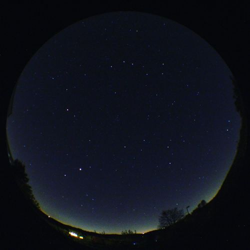 Good Night! Fisheye Good Night Night Beauty In Nature Scenics Astronomy Tranquility Nature Star - Space Tranquil Scene Sky No People Outdoors Low Angle View Whatever Sternbild Clear Sky Space Starry Galaxy Tadaa Community Star Stars Großer Bär Großer Wagen