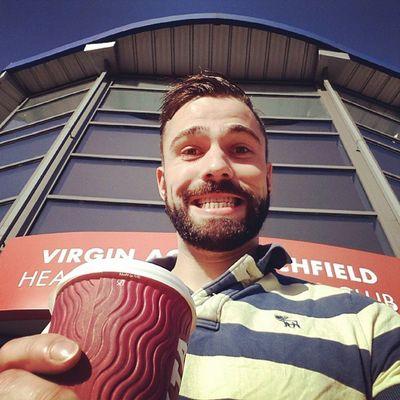 Free coffee! Virgin  Virginactive Costa Beard Beardedguy beardedgay