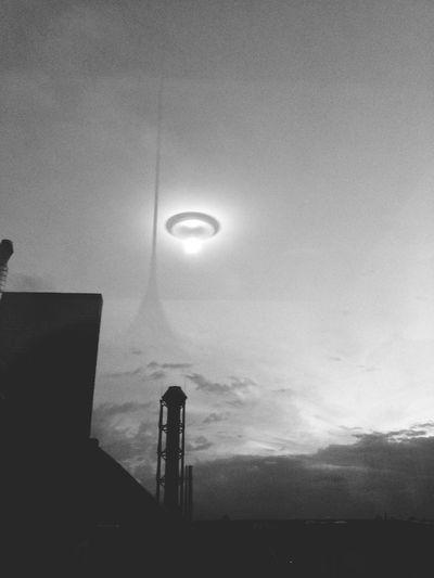 Flying Saucer over Kreuzberg