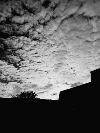 Building Exterior Sky Built Structure Cloud - Sky Architecture Dusk Silhouette City No People Sunset House Sunbeam Dramatic Sky Low Angle View Beauty In Nature Outdoors Nature Tree Day
