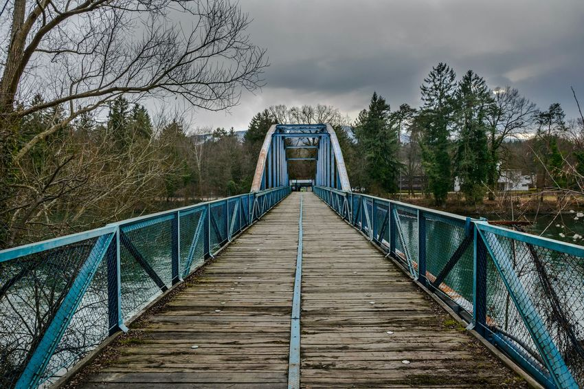 Blue bridge Walking Around The City  Bridges Hometown Cityscapes Worldwar2 Architecture_bw Travel Photography Home Sweet Home Explore City Life