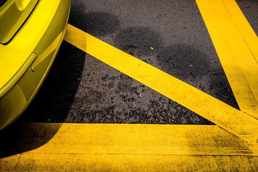 Paint The Town Yellow Yellow Transportation Road Marking Asphalt Road Street Day No People Outdoors Close-up Street Photography Streetphotography EyeEm Snap Travel Photography Streetphoto_color EyeEm Best Shots The Week On Eyem EyeEm Gallery