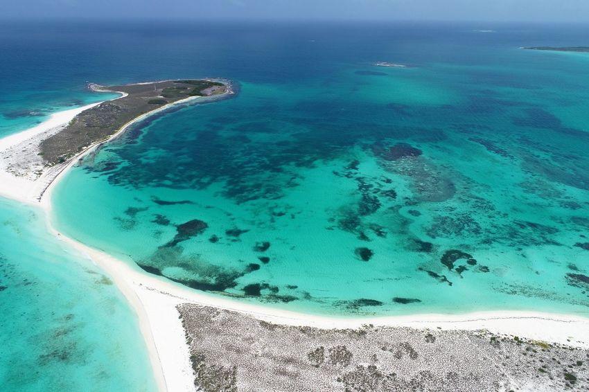Beach Sea Seascape Sea And Sky Caribbean Caribean Sea Los Roques, Venezuela Cayo De Agua