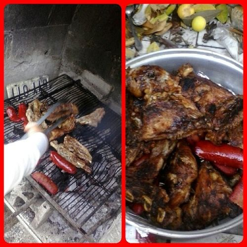 Carne Asadaa with the Familiaa '♥ Laredithoo Carneasada Beast Delicious Yaaay !!
