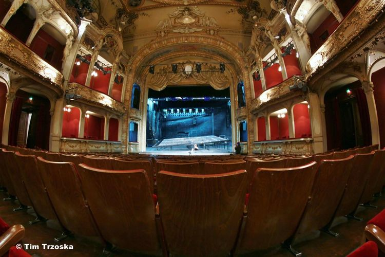 Architecture Berliner Ensemble Bühne Interior No People Rang Stage Theater