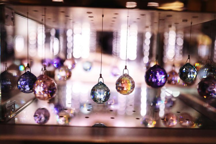 Colourful Canon_official Decoration Hanging Christmas Decoration Defocused Elégance Choice Close-up Disco Ball Display