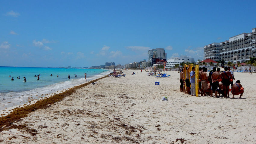 Andrevieira Beach Beauty In Nature Landscape Landscape_Collection Landscape_photography Nature Real People Photografie Férias Photography Photo Ferias2015 Vocation Eyeem Collection Welcome Wekly Cancun Grandparkroyal Photographie