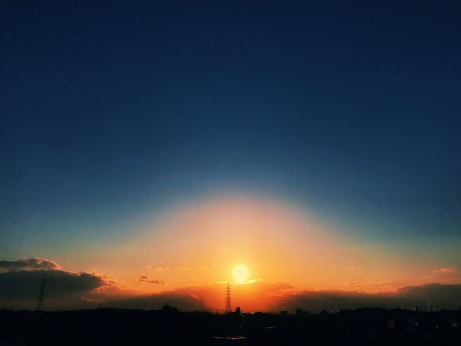 Sunset Sky 夕陽 Sunset #sun #clouds #skylovers #sky #nature #beautifulinnature #naturalbeauty #photography #landscape 日本 夕焼け いつかの夕陽 Sunset Lovers Sunset_collection 夕日 Day Set Japan いつかの空