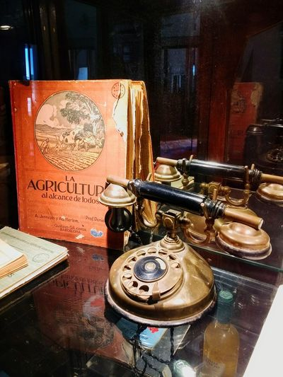 Antique Bronze Museum Telephone Arts Culture And Entertainment Old-fashioned Communication Telephone Receiver Close-up Analog Vintage Retro Analogue Sound