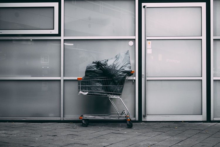 When you love shopping, but buying trash is not the answer... Abandoned Day Fujifilm Grey Indoors  Minimalistic No People Shopping Stack Street Photography VSCO Vscogrid