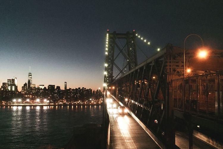 Moody Nightphotography Brooklyn Williamsburg New York New York City