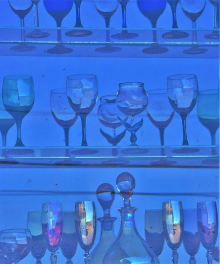 Alcohol Arrangement Blue Champagne Champagne Flute Close-up Cocktail Day Drink Drinking Glass Food And Drink Food Stories Freshness In A Row Indoors  Large Group Of Objects Liqueur Neat No People Refreshment Still Life Studio Shot Table Variation Wine Wineglass