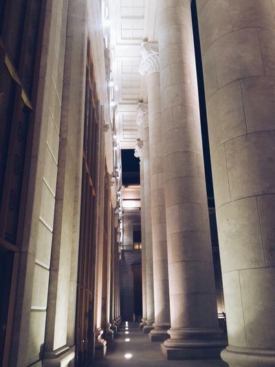 Opera House Astana Night Lights
