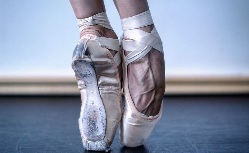 B A L A N C E Ballerina Pointe Shoes Balance Berlin Veins Feet Fine Art Photography Adventure Club Showcase July