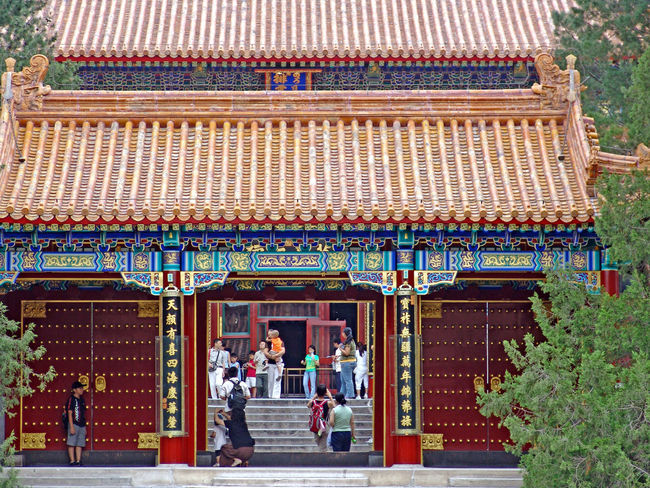 Architecture Beijing BEIJING北京CHINA中国BEAUTY Building Exterior China China In My Eyes China Photos Outdoors People Sommerpalast Summer Palace Tourism Travel Destinations